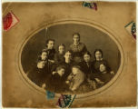 Young women group portrait