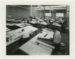 Curtiss-Wright employees drafting