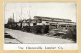 Clintonville Lumber Company photograph