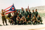 Ohio Troops in First Persian Gulf War Photograph