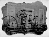 Sharps, Davis and Bonsall Company Steam Engine Ambrotype