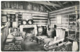 Onstot's Cooper Shop, New Salem State Park, Lincoln's New Salem, Illinois Postcard