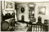 Back Parlor in Abraham Lincoln's Home Postcard