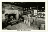 Interior Berry-Lincoln store postcard
