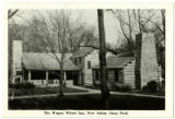 Wagon Wheel Inn, New Salem State Park Postcard