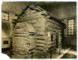 Abraham Lincoln Birthplace Cabin in Hodgenville, Kentucky, photographic print