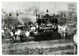 Abraham Lincoln hearse through Columbus, Ohio, photographic print