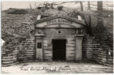 Abraham Lincoln first burial tomb, photographic print
