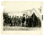 Abraham Lincoln at Antietam, Maryland photograph