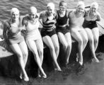 Y.W.C.A Girls at Swimming Pool