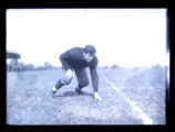 Jim Thorpe in 3-point stance