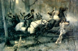 Battle of Fallen Timbers painting