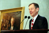 George Voinovich at Portrait Unveiling
