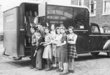 Children Visiting Bookmobile