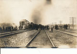 1916 Amherst Train Wreck Postcard