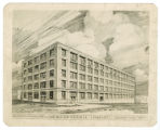 Drawing of American National Company factory