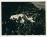 James M. Cox home aerial photograph