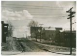 Unpaved Street in Akron, Ohio photograph