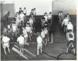 Ashland Grade School gym class photograph
