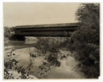 Newton Falls covered bridge photograph