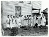 Butler County Emergency Schools homemaking class