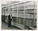 Record storage in Cleveland City Hall