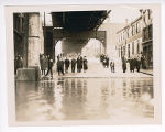 1937 Ohio River flood in Steubenville - Water Street