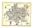 Springfield, Ohio 1937 Map