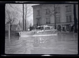 Lawrence County Courthouse during Great Flood of 1937