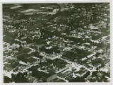 Aerial view of New Philadelphia, Ohio