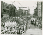 Parade down Federal Street in Youngstown, Ohio