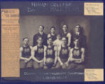 Hiram College Olympic Championship Basketball Team Photograph