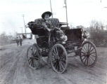 Herbert Pease Croxton in a Jewell Automobile Photograph