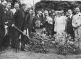 Irish Cultural Garden Dedication Photograph