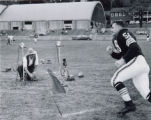 John Morrow at Cleveland Browns Training Camp Photograph