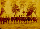 Johnson's Island Hoffman's Battalion Commissioned Officers Photograph