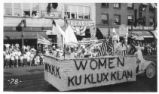 Ku Klux Klan Ladies' Auxiliary Centennial Float Photograph
