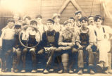 Kelley's Island North Quarry Cooper Shop Gang Photograph
