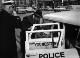 Kurt Wegner with Youngstown Police Visiting Vaccination Centers Photograph