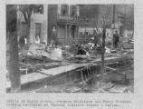 Maple Street Flood Debris Photograph