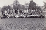 Miami University's First Class in Physical Education and Coaching Photograph