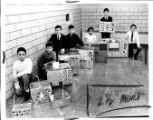 Mercer Elementary School Students with Computers Photograph