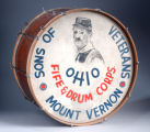 Mt. Vernon Fife and Drum Corps Bass Drum