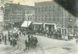 Oberlin North Main St. and West College St. Photograph
