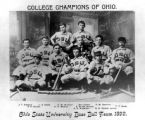 Ohio State University Baseball Team Photograph
