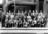 Otis Steel Blast Furnace Crew Photograph