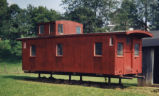 Bellaire, Zanesville, and Cincinnati Railroad Caboose