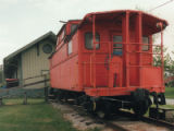 Pennsylvania Central Railroad Caboose