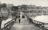 Putnam Bridge Following 1913 Flood Photographs