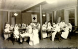 Red Cross Surgical Dressing Class Photograph